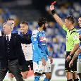 UFFICIALE - Giudice Sportivo: Ancelotti squalificato per un turno! Multati anche Insigne e la SSC Napoli