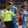 """Il commento della SSC Napoli: """"Un corredo di sorte avversa che si materializza ormai da tempo in pali, traverse ed episodi nefasti"""""""