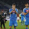 Dal volo di Meret al dispiacere degli azzurri: tutte le emozioni di Roma-Napoli 2-1 [FOTOGALLERY CN24]