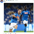 Fabian Ruiz condivide un cuore azzurro sui social [FOTO]