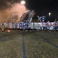 """""""Liberi di tifare"""": all'esterno dela Curva B i tifosi manifestano prima di Genoa-Napoli [VIDEO CN24]"""