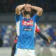 Dalla disperazione di Mertens allo sguardo fisso di Edo: le emozioni (poche) di Napoli-Genoa 0-0 [FOTOGALLERY CN24]