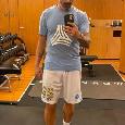 Hebei, Lavezzi sfoggia il pantaloncino del Napoli tra un allenamento ed un altro [FOTO]