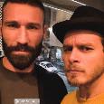 """""""Sangue blù"""" incontra Tonelli, l'attore Muselli scherza con l'azzurro: """"Prima e dopo la fusione!"""" [FOTO]"""
