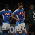 Gazzetta - Koulibaly in campo contro l'Udinese! Il difensore stringerà i denti, giocherà con una protezione