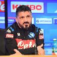 """Gattuso: """"Nessuno ha il posto assicurato, chi merita gioca! Lobotka può fare la mezzala, Ghoulam soffre ancora. Bisogna essere bravi nell'essere cattivi, su Ospina e Meret..."""""""