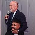 """De Laurentiis: """"Guardiamo con fiducia al 2020! Sia ricco di gioia, successo, salute e allegria"""""""