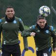 """Probabili formazioni Napoli-Inter, Venerato anticipa a CN24: """"Recuperati Allan, Fabian e Mertens che saranno disponibili per domani"""""""