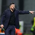 Il Mattino - Gattuso-Napoli, l'allenatore può liberarsi entro dieci giorni e pagando una penale di 600mila euro