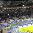 Lazio KO, Napoli in festa sotto la Curva B: lo stadio San Paolo esplode di gioia al triplice fischio [VIDEO CN24]
