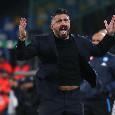 Il Giornale - De Laurentiis pentito di aver scelto Gattuso: l'allenatore ha impiegato un mese per capire ciò che Ancelotti faceva intendere da tempo