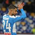 """La Curva torna a cantare """"Un giorno all'improvviso"""" e Insigne segna contro la Lazio [VIDEO]"""