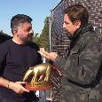 """Tapiro d'Oro a Gattuso: """"Arriveranno momenti migliori, dobbiamo stringere i denti. Ci rialzeremo"""" [VIDEO]"""