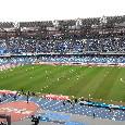 Coppa Italia, biglietti Napoli-Lazio settore ospiti in vendita: il prezzo