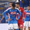 Il giorno dopo Napoli–Fiorentina si è perfino sentita l'assenza di Mario Rui, Gattuso in confusione...
