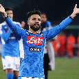 """UEFA su Twitter: """"Il Napoli risorge con Insigne, un gol del capitano elimina la Lazio"""""""