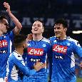 """Il commento della SSC Napoli: """"Gol del capitano e 95 minuti da guerrieri! Notte di emozioni struggenti, lacrime e sudore"""""""