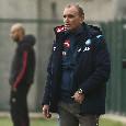 """Napoli Primavera, Angelini: """"Ci sono troppi problemi, situazione difficile. Dovevamo chiuderla ma ci siamo abbassati troppo. Non guardiamo la classifica"""" [VIDEO CN24]"""
