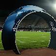 Il Napoli si prepara ad una notte storica, anche l'UEFA celebra il San Paolo versione Champions League [FOTO]