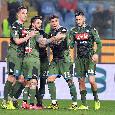 IL GIORNO DOPO...Sampdoria-Napoli: la mancanza di Fabian che non si sente, l'errorino di Meret e la <i>vecchiaia</i> di Mertens