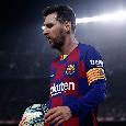 Il Mattino - Barcellona, Messi in dubbio contro l'Eibar per stare al top contro il Napoli