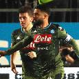 Da Brescia - Tensione in gradinata, tifosi napoletani presi di mira dopo il gol di Insigne: necessario l'intervento delle forze dell'ordine