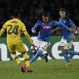 RILEGGI LA DIRETTA - Napoli-Barcellona 1-1 (29' Mertens, 57' Griezmann): ottima prova di sacrificio, peccato per la distrazione sul gol