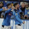 Pagelle Napoli-Barcellona: Mertens letale, Zielinski elegante! Maksimovic stoppa Messi, Mario Rui leone a metà. Callejon cosa ti sei divorato!