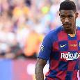 Sky - Il Napoli ha chiesto informazioni per Junior Firpo ed il Barcellona apre al prestito