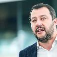 """Salvini: """"Scudetto? Spero possa vincerlo una tra Milan e Napoli ma si deciderà all'ultima giornata"""""""