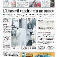 """Prima Pagina Il Mattino: """"Alemao 30 anni dopo: 'Quelle cento lire e gli insulti a Napoli'"""" [FOTO]"""