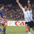 "Renga: ""Maradona fu il protagonista assoluto di 'italia 90', calciatore di altra categoria e leader assoluto"""