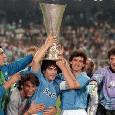La UEFA celebra il Napoli: nel 1989 supera lo Stoccarda e vince la Coppa UEFA [VIDEO]