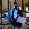 """Lettera e sciarpa del Napoli recapitata a casa Mertens: """"Per Ciro"""" [FOTO]"""