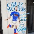 """Napoli, dedicato a Mertens un murales ai Quartieri Spagnoli: """"Ciruzz, il più grande goleador"""" [FOTO]"""
