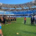 Due amichevoli post-ritiro per il Napoli! L'11 col Pescara può essere riaperto il San Paolo ai tifosi, poi trasferta europea il 13