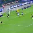 Napoli-Inter 1-1 (2' Eriksen, 41' Mertens): che sofferenza! Ospina miracoloso, mai visto un Maksimovic così: azzurri in finale!