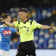 UFFICIALE - Le designazioni arbitrali per le prime 3 partite dell'ottava giornata di ritorno