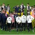 Sequenza rigori Napoli-Juve, Sarri col dente avvelenato: pugni stretti e tutti in cerchio per motivare la squadra [VIDEO]