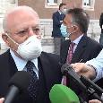 """Regione Campania, l'appello di De Luca: """"Il virus attacca anche i giovani, dobbiamo tenere gli occhi aperti"""""""