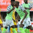 Coppa d'Africa 2021, la Nigeria di Osimhen automaticamente qualificata dopo lo 0-0 di Lesotho-Sierra Leone. L'attaccante azzurro titolare alle 17