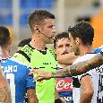 UFFICIALE - Coppa Italia, Napoli-Empoli: arbitrerà Giua, Di Paolo al VAR