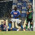 Ancora il VAR protagonista al San Paolo: terzo gol annullato al Sassuolo