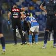 SSC Napoli: Insigne è stato sostituito per un risentimento alla coscia sinistra
