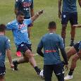 Ritiro Napoli, Gattuso carica la squadra: urla durante l'allenamento di pressing, ritmi altissimi [VIDEO]