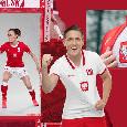 Nuova maglia per la Polonia, ecco Zielinski in posa [FOTO]