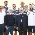 """Castel di Sangro, allenamento mattutino: il cardinale Sepe incontra De Laurentiis e Gattuso. """"Non ci lasciare!"""", dagli spalti un <i>invito</i> a Koulibaly! [VIDEO]"""