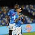 Gran gol di Politano, Napoli-Atalanta 3-0 al primo tempo