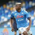 """Napoli-Real Sociedad, Osimhen non fa mancare il suo sostegno ai compagni: """"Goodluck boys"""""""