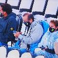 Tifosi Juve sotto la pioggia allo Stadium per assistere al 3-0 a tavolino contro il Napoli [FOTO]
